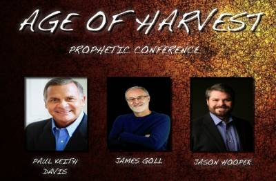 Prohpetic Conference with Paul Keith Davis, James Goll and Jason Hooper (February 27- March 2)