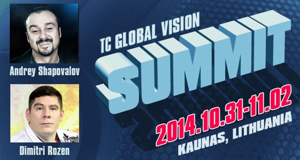 "Конференция ""TC Global Vision Summit"" Каунас Литва (Октябрь 31-2 Ноября 2014)"