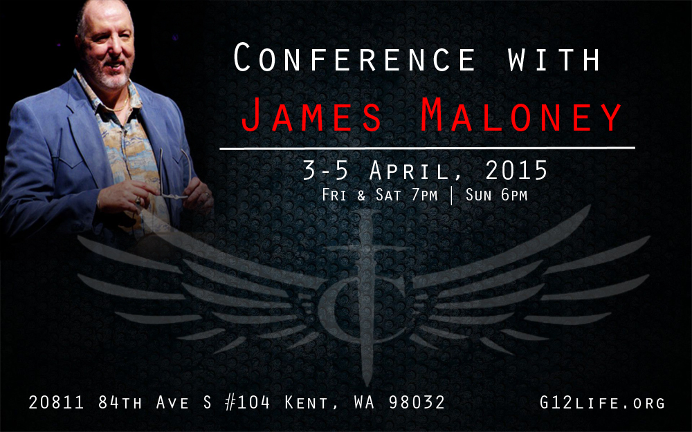 Конференция с участием Джеймса Малони (3-5 Апреля 2015 Сиэтл Вашингтон)