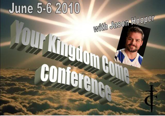 "Conference ""Your Kingdom Come"" Jason Hooper 2010"