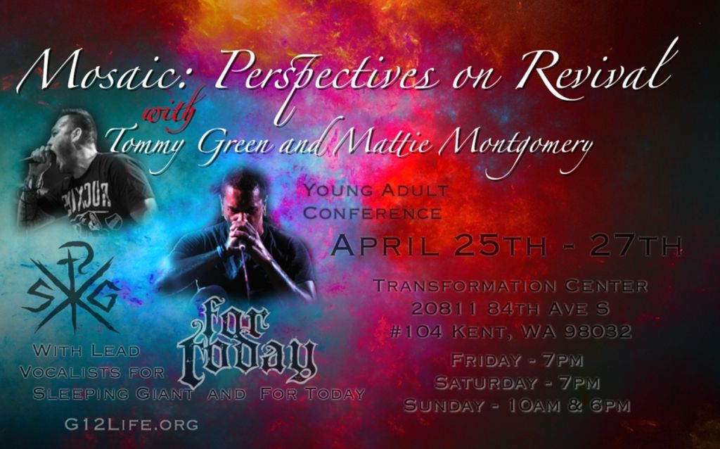 Конференция / Conference with Tommy Green (Sleeping Giant) and Mattie Montgomery (For Today) April 25 - 27 2014